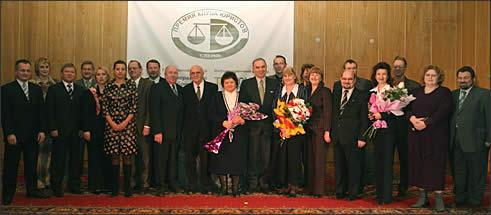 Лауреаты Премии и члены Клуба юристов.